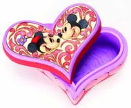 Disney Traditions Mickey/Minnie Heart Box -- DEC112026