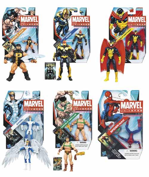 Marvel Universe Action Figure Assortment 201301 -- JAN131691