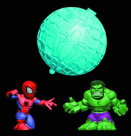 Spider-Man Spider Pods BMB Display -- JAN131693