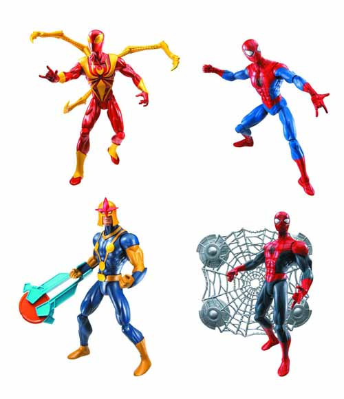 Ultimate Spider-Man 6-In Action Figure Assortment 201301 -- JAN131696
