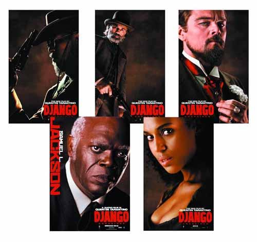 Django Unchained 8-In Action Doll Assortment -- JAN131697