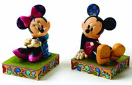Disney Traditions Mickey/Minnie Bookends -- DEC112033