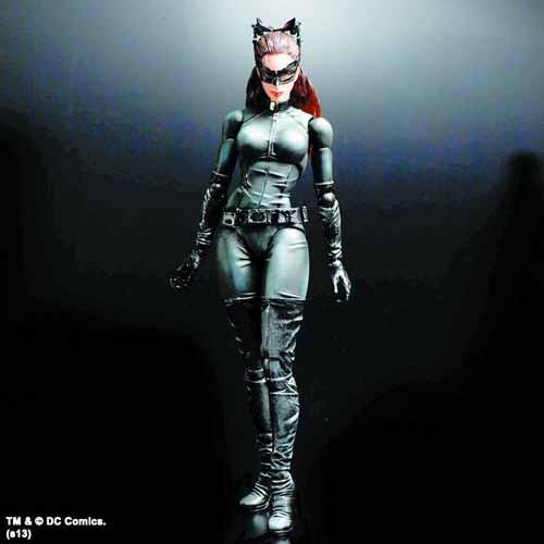 Dark Knight Trilogy Play Arts Kai Catwoman Action Figure -- JAN131784