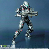 Halo 4 Play Arts Kai Spartan Sarah Palmer Action Figure -- JAN131810