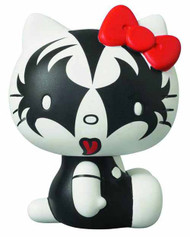 Kiss X Hello Kitty The Demon Vinyl Collector Dolls VCD -- JAN131812