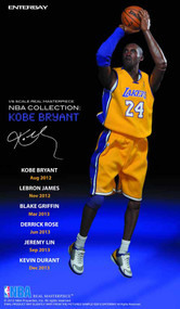 Kobe Bryant Real Masterpiece Action Figure -- JAN131825