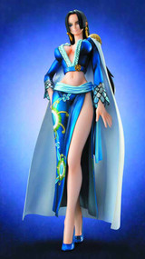 One Piece Pop Boa Hancock Ex Model PVC Figure Blue Version -- JAN131827