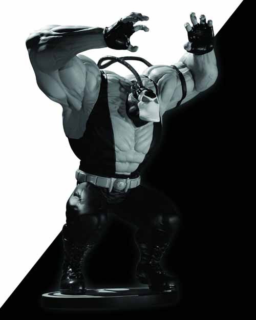 Batman Black & White Statue Bane Kelley Jones--Dark Knight -- JUL120274