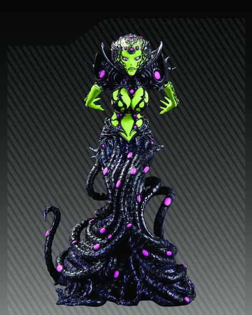 Ame Comi Brainiac PVC Figure -- DC Comics -- JUL120276