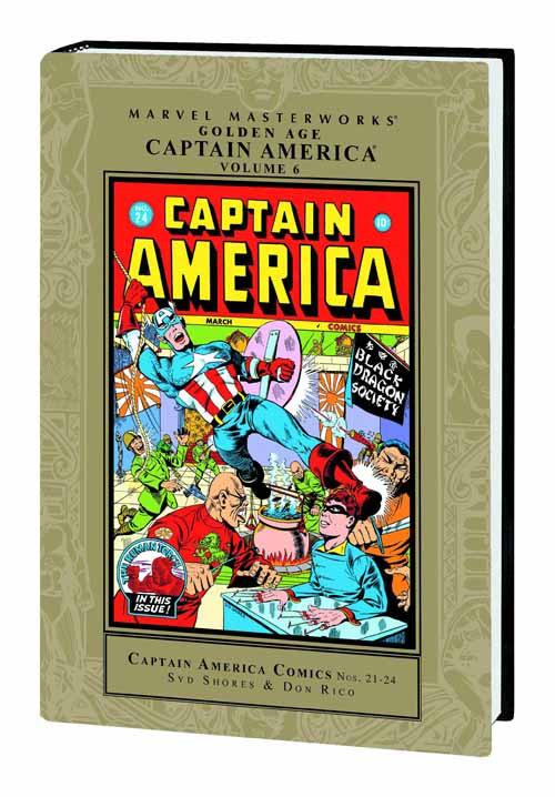 Marvel Masterworks MMW Golden Age Captain America HC Vol 06 -- JUL120634