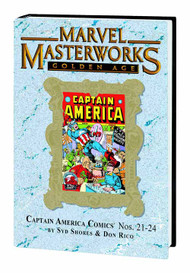MMW Golden Age Captain America HC Vol 06 Dm Var Edition 189 -- JUL120635