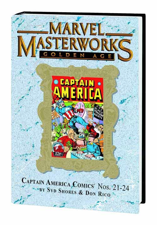 MMW Golden Age Captain America HC Vol 06 Dm Var Edition 189 -- JUL120635
