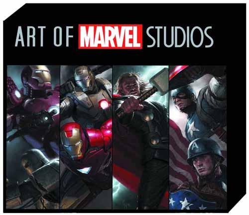 Art Of Marvel Studios TPB Slipcase -- JUL120647
