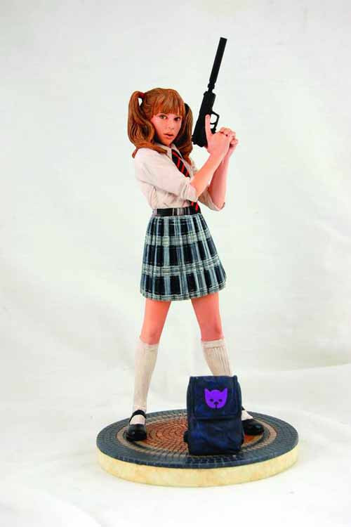 Hit Girl School Girl Statue -- Kick-Ass Millar & Romita Jr -- JUL121041
