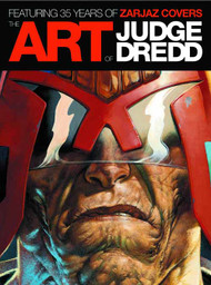 Art Of Judge Dredd 35 Years Zarjaz Covers HC -- JUL121202