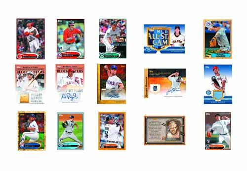 Topps 2012 Update Ser Baseball Trading Cards T/C Jumbo Box -- JUL121444