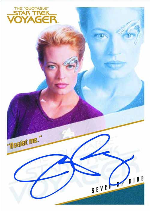 Quotable Star Trek Voyager Trading Cards T/C Box -- JUL121448