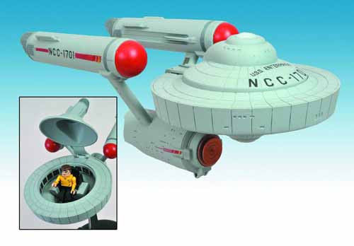 Star Trek Original Series Enterprise Minimate Vehicle Case -- JUL121720