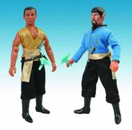 Star Trek Mirror Universe Retro Cloth Fig Asst Kirk/Spock -- JUL121721