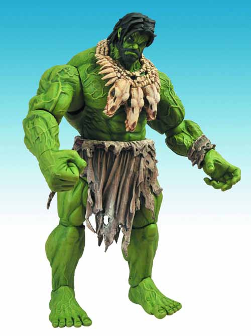 Marvel Select Barbarian Hulk Action Figure Case -- Diamond -- JUL121725