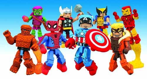 Marvel Minimates Best Of Assortment -- Spider-Man Iron Man -- JUL121729