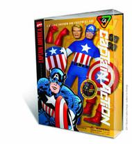 Captain Action Captain America Deluxe Costume Set -- JUL121746