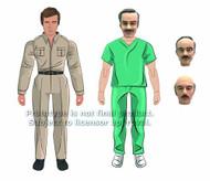 6 Million Dollar Man Austin & Dr Wells Action Figure Asst -- JUL121748