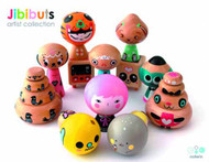 Jibibuts Wooden Mini Figure 12 Piece BMB Ds Artist Ser 1 -- JUL121761