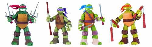 Teenage Mutant Ninja Turtles Battle Shell 11-In AF Asst -- DEC121671