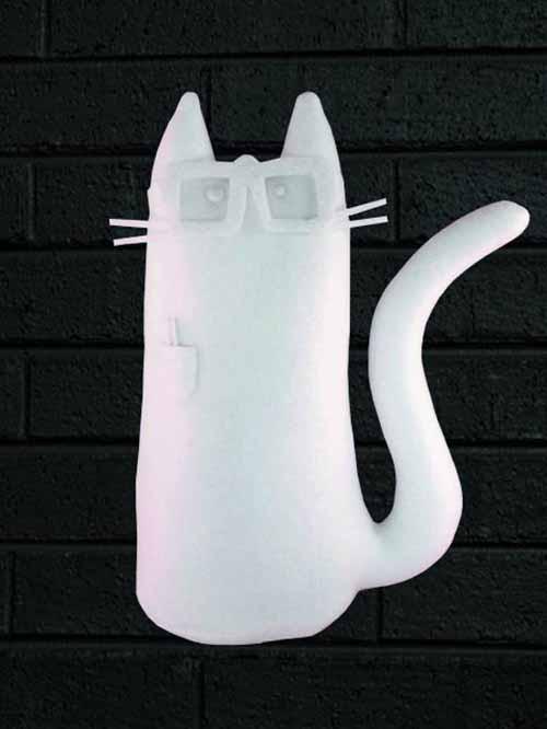 Kitty Go Nerdy 11in Plush Chalkdust Version -- JUL121766
