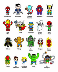 Marvel X Tokidoki Frenzies 30 Piece BMB Ds -- JUL121769