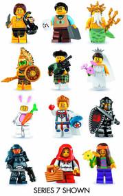 Lego Minifigures Series 8 Display -- JUL121791