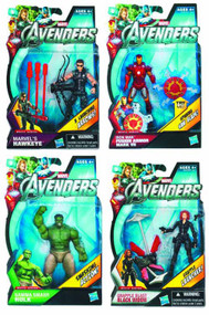 Avengers Earths Mightiest Heroes Action Figure Asst 201204 -- JUL121809