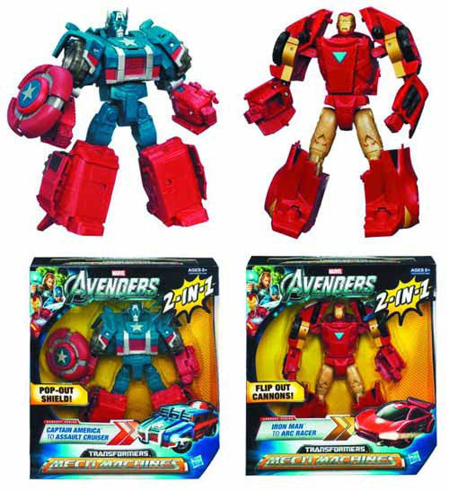 Avengers Transformers Crossovers Action Figure Assortment -- JUL121810