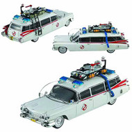 Hot Wheels Cult Classics Ghostbusters 1/43 Ecto-1A Die-Cast -- JUL121812