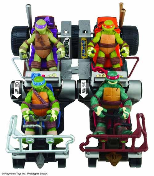 Teenage Mutant Ninja Turtles Mid-Price Vehicle Assortment -- DEC121673