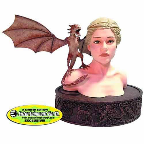 Game Of Thrones Daenerys w/ Viserion Bust -- JUL121852