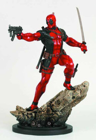 Deadpool Action Statue -- X-Men Avengers Bowen Designs -- JUL121853