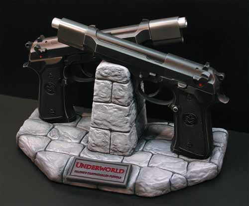 Underworld Selene Replica Deathdealer Pistols -- JUL121859
