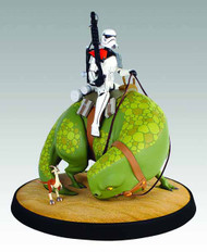 Star Wars Sandtrooper On Dewback Maquette -- Gentle Giant -- DEC121697