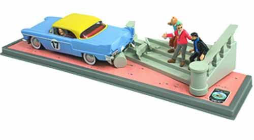 Tintin Transports Classic El Dorado Car -- JUL121981