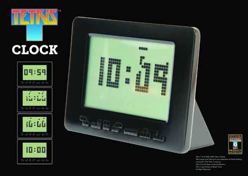 Tetris Alarm Clock -- JUL121993
