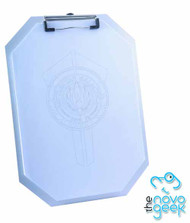 Battlestar Galactica Metal Replica Clipboard w/ Paper Set -- JUL122023