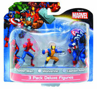 Marvel Classic 3 Pack 4in PVC Figurine Assortment -- JUL122080