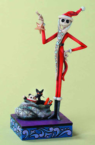 Disney Traditions NBX Santa Jack Figure -- JUL122131