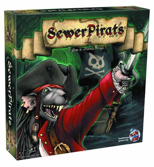 Sewer Pirats Board Game -- JUL122162