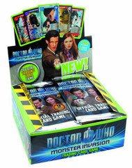 Doctor Who Monster Invasion Tcg Booster Ds -- JUL122166