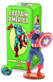 Classic Marvel Characters Series 2 #3 Captain America -- JUN120061