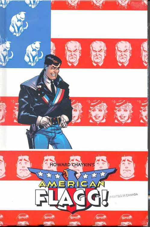 American Flagg Definitive Collection Signed HC Vol 01 -- JUN120425