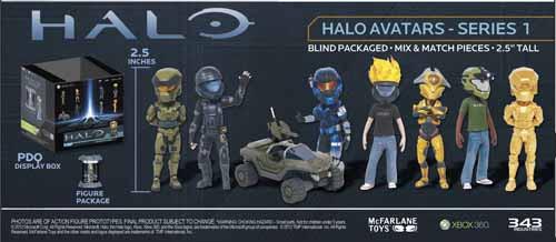 Halo Xbox Live Avatar BMB Display -- JUN120586